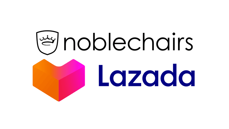 noblechairs now in Lazada with gaming chairs starting at PHP 18,990