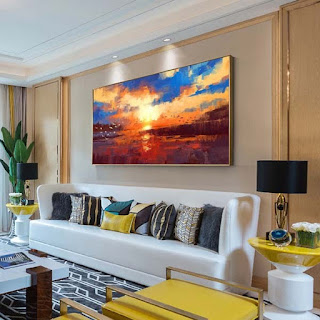 Landscape Oil Painting Wall Art