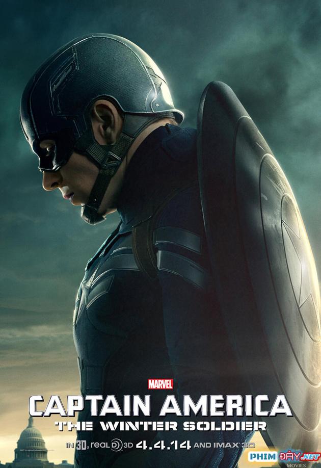 CAPTAIN AMERICA 2: CHIẾN BINH MÙA ĐÔNG - Captain America 2: The Winter Soldier (2014)