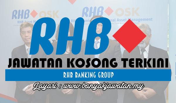 Jawatan Kosong 2018 di RHB Bank Group