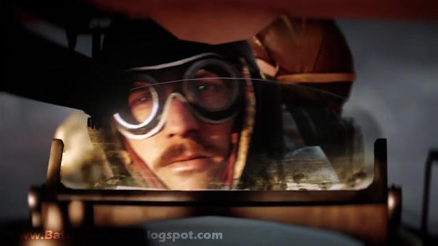 Battlefield 1 Biplane Pilot