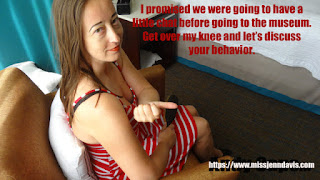 captioned spanking photo