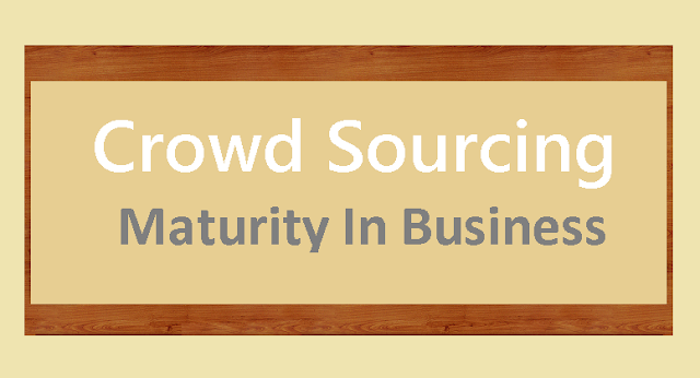 Crowd-Sourcing-Maturity-In-Business #Infographic