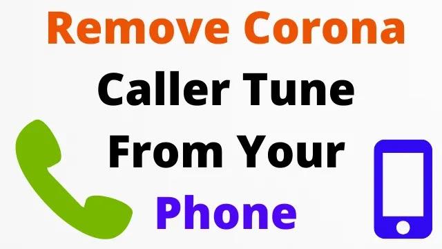 how to Coronavirus caller tune Deactivate