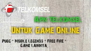 Apn telkomsel untuk game online 2019