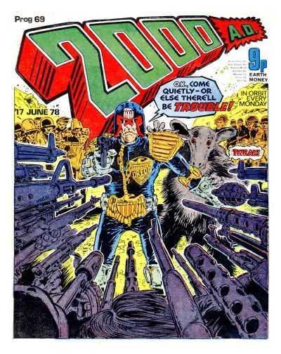 2000 AD Prog 69, Judge Dredd