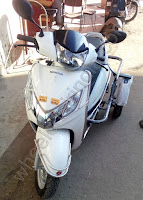 Side Wheel Attachment For Activa 125