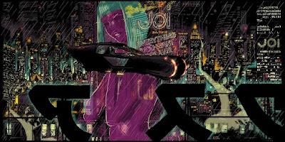 "Blade Runner 2049 ""Hey Joe"" Screen Print by Raid71 x Bottleneck Gallery"