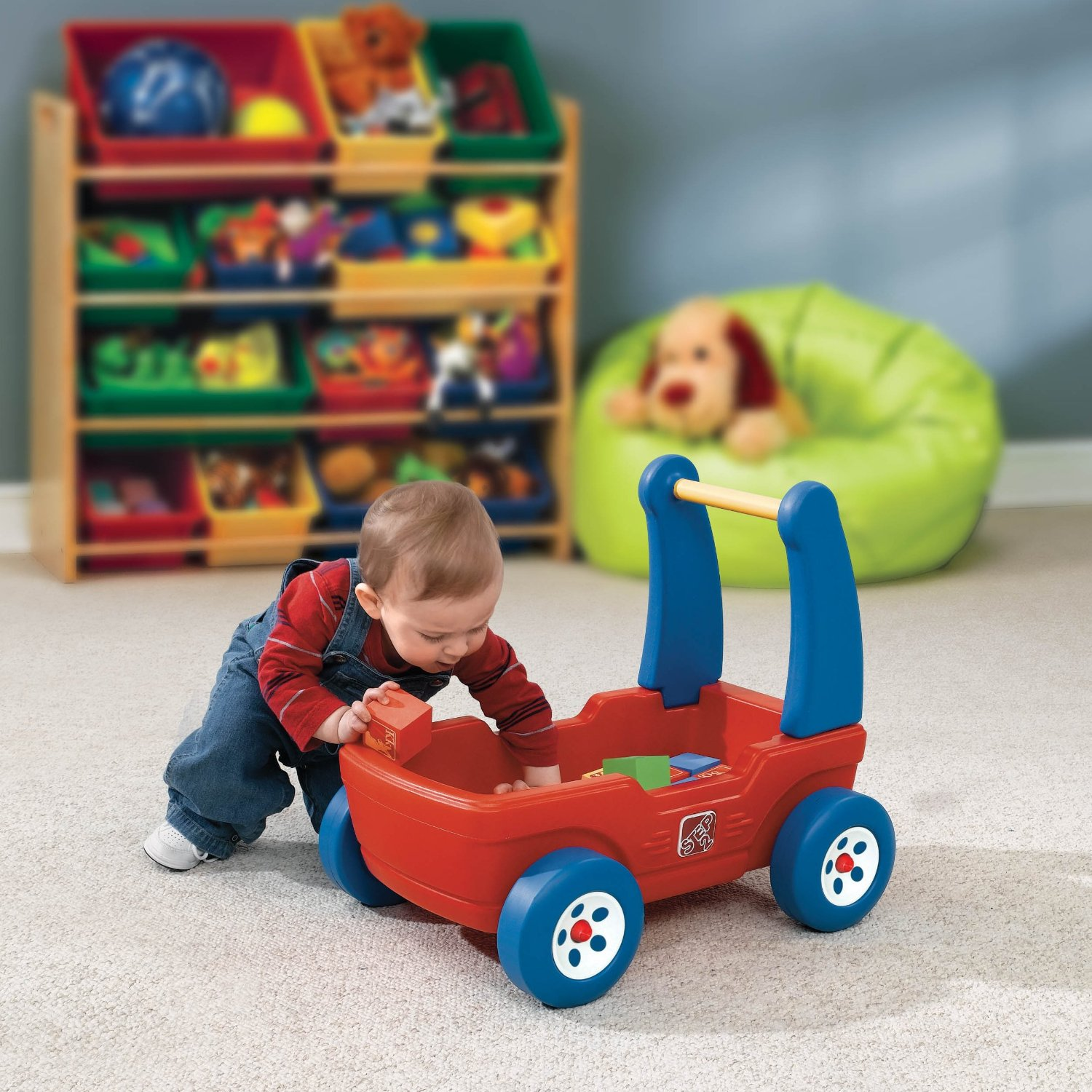 Step2 Walker Wagon W Blocks Make Great Gifts For 1 Year Old Boys