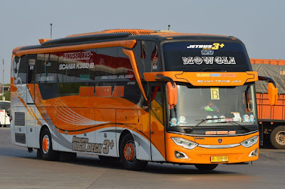Foto Bus Sudiro Tungga Jaya Mowgli