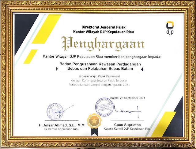Kepala Biro Humas Promosi dan Protokol BP Batam Ariastuty Sirait