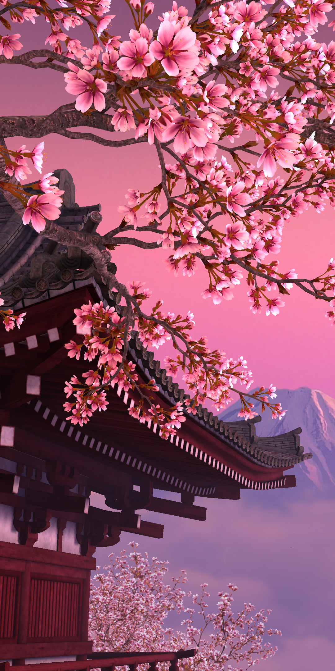 Japanese Sakura Tree Mobile Wallpaper - HD Mobile Walls