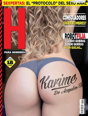 Karime Pindter - H para Hombres 2017 Febrero (80 Fotos HQ)
