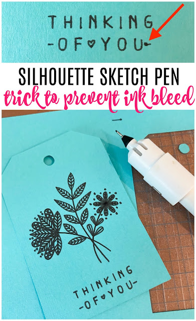 Silhouette 101, Silhouette America Blog, sketch pen, Cameo 4 tutorials, sketch and cut