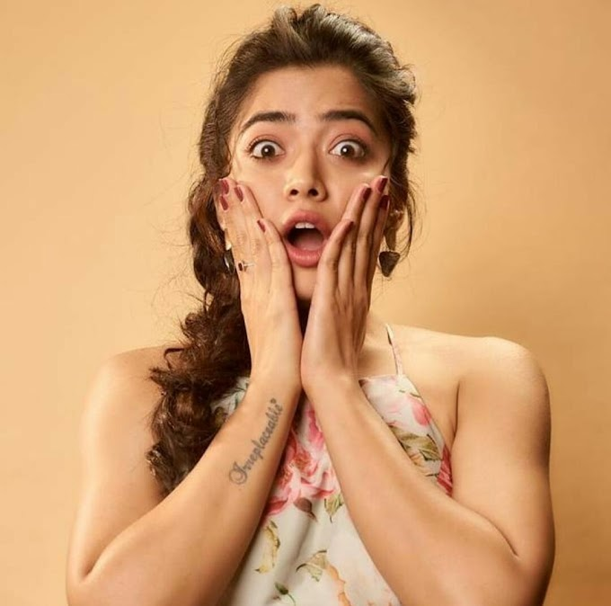 Rashmika Mandanna Cute Expressions Photos