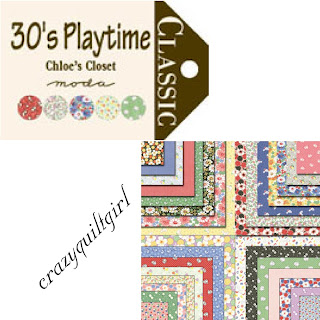 Moda 30'S PLAYTIME Fabric by Chloe's Closet