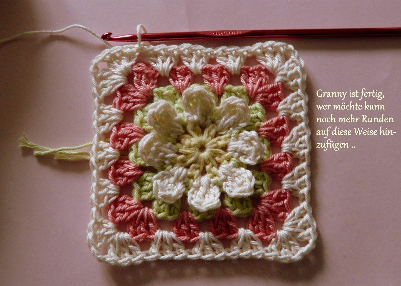 Die Häkel Eule Häkeln Und Stricken Blumen Granny Square Foto