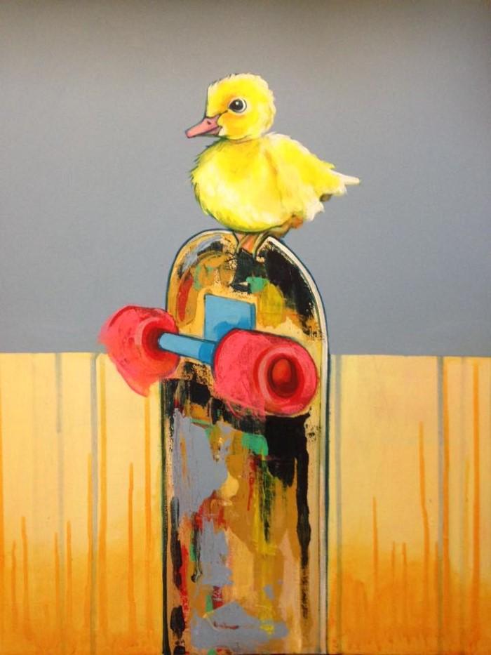Британский художник. Martin Varennes-Cooke