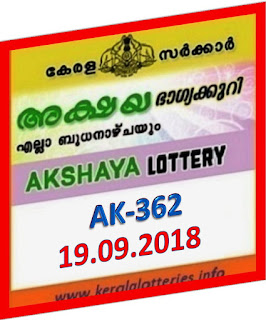 kerala lottery result from keralalotteries.info 19/09/2018, kerala lottery result 19-09-2018, kerala lottery results 19-09-2018, AKSHAYA lottery AK 362 results 19-09-2018, AKSHAYA lottery AK 362, live AKSHAYA   lottery AK-362, ,   AKSHAYA lottery results today, kerala lottery AKSHAYA today result, AKSHAYA kerala lottery result, today AKSHAYA lottery result, lottery download, kerala lottery department, lottery results, kerala state lottery today, kerala lottare, kerala today, today lottery result AKSHAYA,