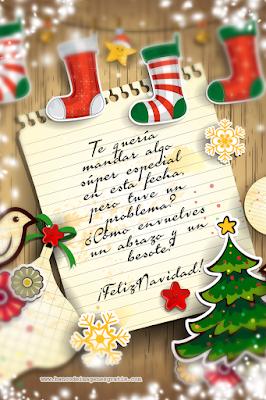 Postales de Navidad con frases