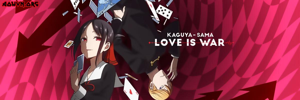 kaguya sama love is war stage key art normal medium 58114 - [ Anime 3gp Mp4 | Ep 2 ] KAGUYA-SAMA WA KOKURASETAI: TENSAI-TACHI NO RENAI ZUNOUSEN | Vietsub - Hấp dẫn!!