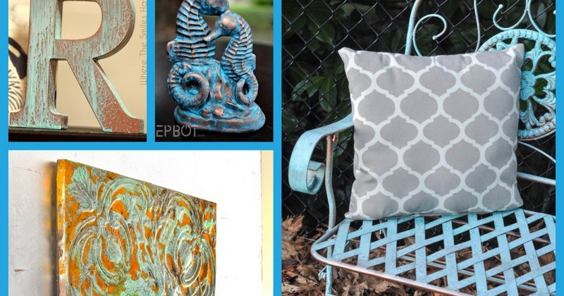 DIY And Household Tips 4 Faux Patina Finishes