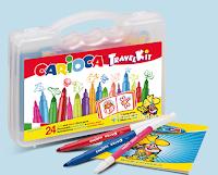 Logo Aquafresh Missione Famiglia ti regala i Kit Carioca con 24 pennarelli