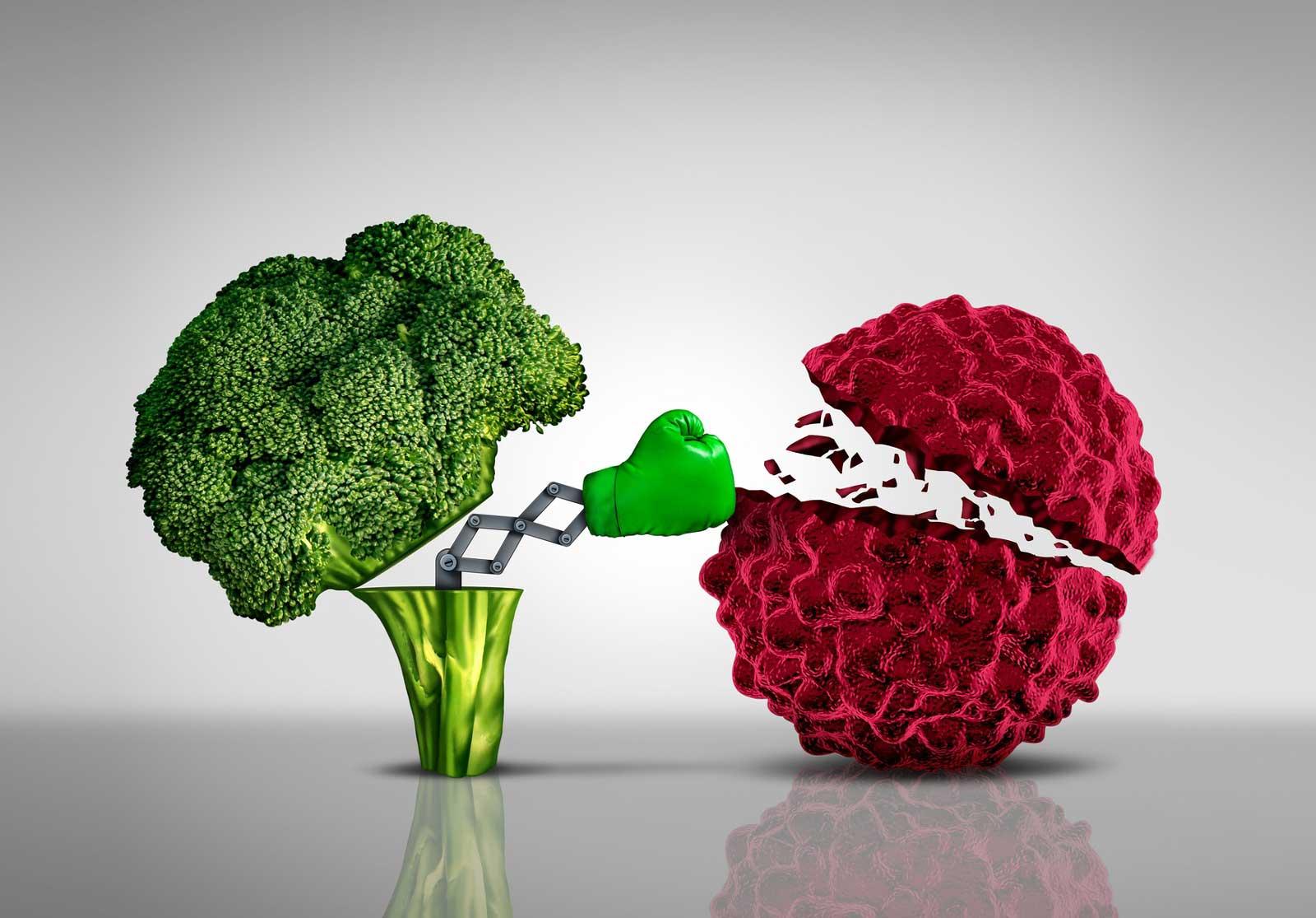 Super-aliments qui luttent contre le cancer
