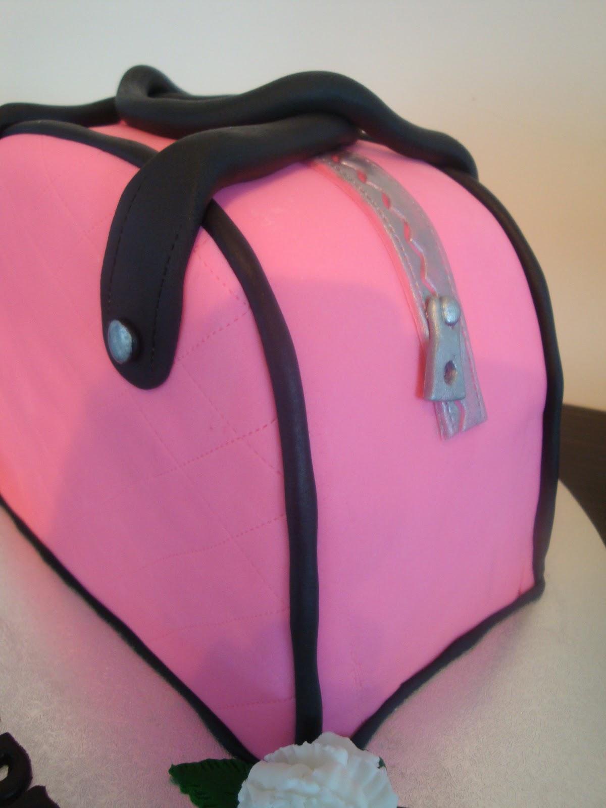 Mrs Woolley S Cakes Handbag Cake