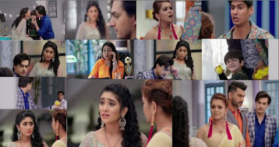 "Yeh Rishta Kya Kehlata Hai Episode 5th February 2019 Written Update ""Naira-Kartik's Argument Over Luv-Kush."""