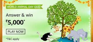 Amazon World Animal Day Quiz