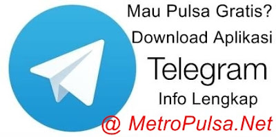 Cara Transaksi Agen Pulsa Murah via Telegram di Server Metro Reload