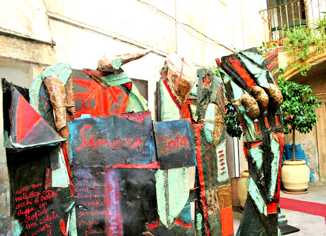 cartapesta, esposizione
