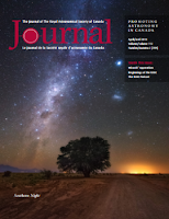 cover of the April 2018 RASC Journal