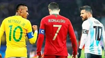 #Neymar ,#Ronaldo and #Messi