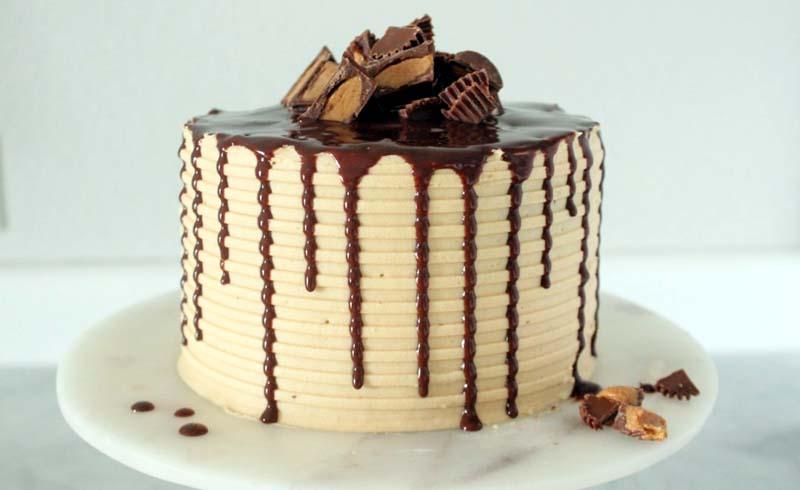 Peanut Butter Chocolate Cake Recipe