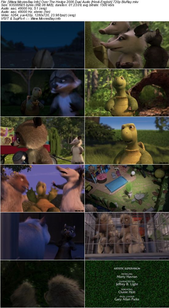 Watch Over the Hedge