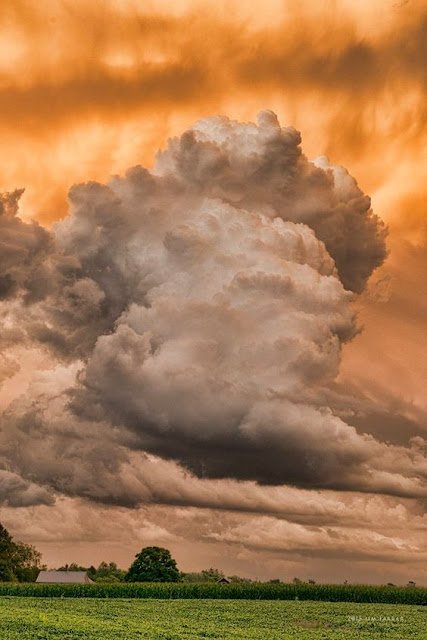 cumulonimbus, amazing nature