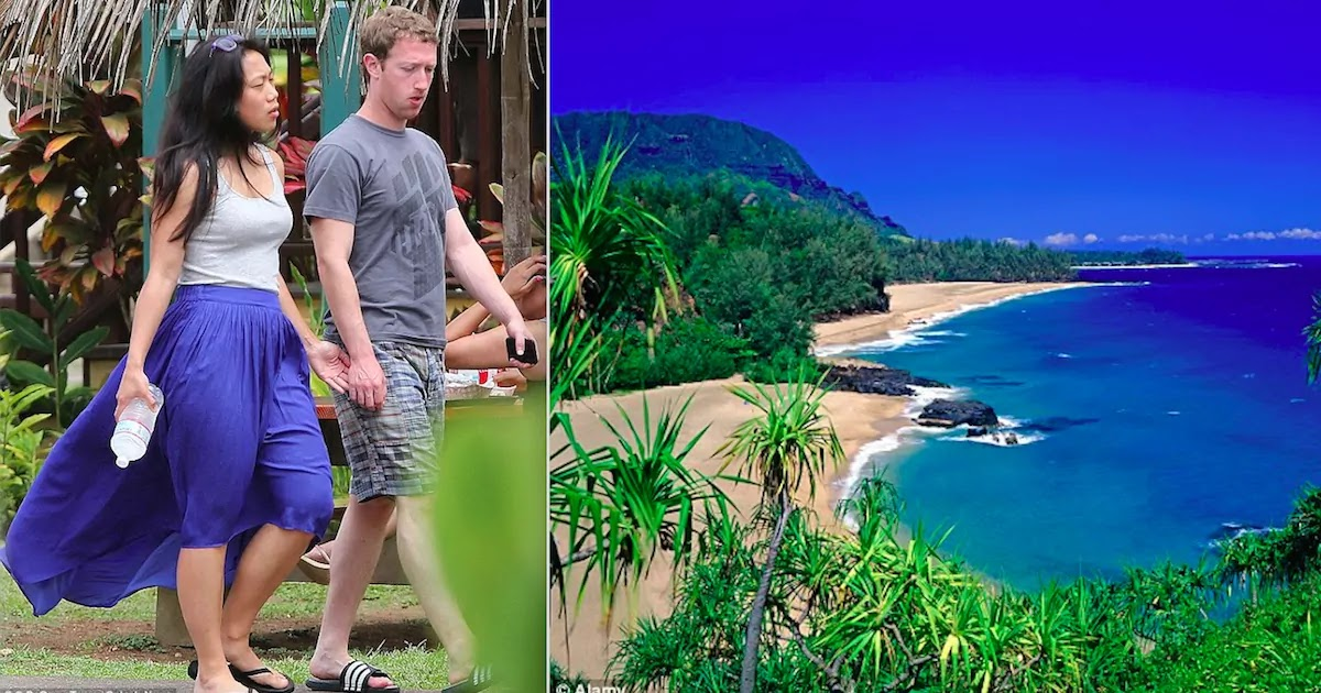 Mark Zuckerberg And Priscilla Chan Purchase Another 700 Acres In Hawaii, Owning Now A Total Of 1,3000 Acres Of Native Hawaiian Land