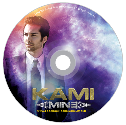 Kami Mine Album CD Cover Design