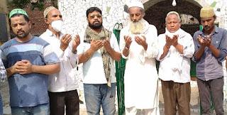 शाही इमाम जफर अहमद सिद्दीकी का निधन, हुए सुपुर्दे-ए खाक   #NayaSaberaNetwork