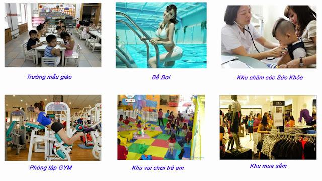 Tiện ích cao cấp và đầy đủ tại dự án Thanh Xuân Complex