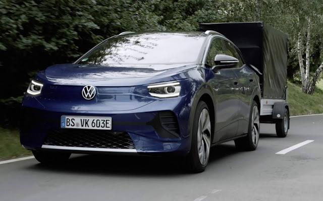 Volkswagen ID4 - test drive