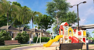Area Play Ground menjadi salah satu lokasi yang akan ditanami pohon buah-buahan di Siranda view
