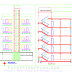 5 Story Apartment Building Designs with AutoCAD File