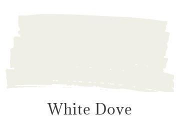 Benjamin Moore White Dove color swatch