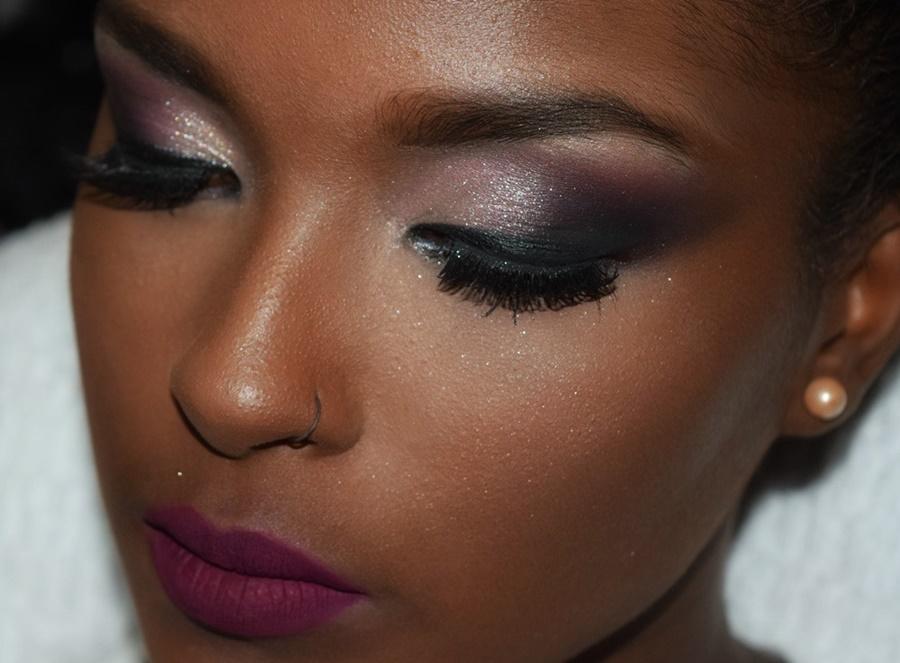 Preferência Maquiagem para pele negra – 10 fotos para se inspirar - Fique mais  KN53