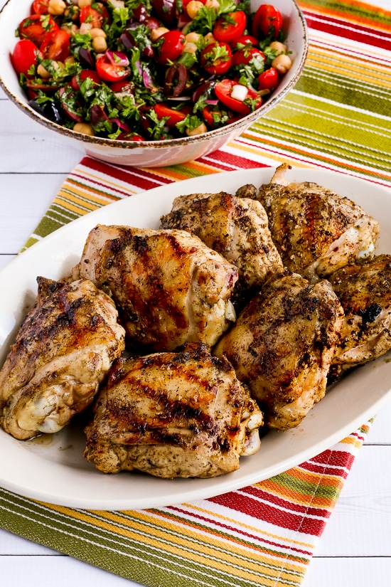 Grilled Chicken with Lemon and Za'atar
