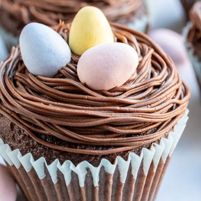 Bird's Nest Easter Cupcakes | Image courtesy of Home. Made. Interest