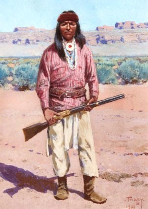 Arctic Native American Tribes Color Pages